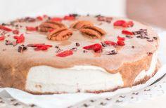 Raw frozen cheesecake! Vegan, glutenfree & no suger