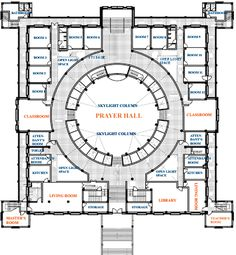 monastery floorplans | ... Oversees Construction of a New Eco Monastery at Buddha's Birthplace