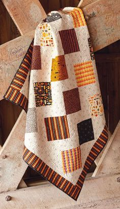 Halloween Stepping Stones Quilt