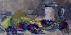 "ingrid christensen | With an apple, I will astonish Paris,"" - Cezanne."