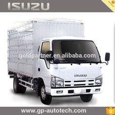 Isuzu 100P fence cargo truck