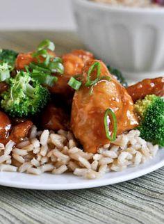 Homemade General Tso's Chicken Recipe | howsweeteats.com