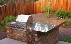 Flagstaff Landscaper | Custom Stone Grill, BBQ