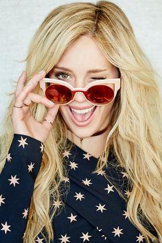 Hilary Duff - Glamour Mexico November 2015