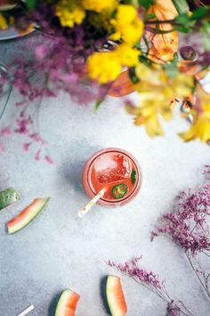 Spicy Watermelon Soda | his homemade sweet and spicy watermelon soda is the perfect fizzy non-alcohol drink recipe to quench your thirst on a hot day.