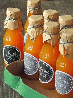 Orangen-Gewürz-Sirup