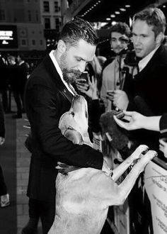 """Woody's a stalwart member of the crew…a proper member of the club, a fully paid-up member."" ~ Tom Hardy"