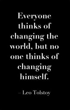 #LeoTolstoy #change #quote by MarylinJ