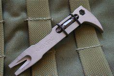 New Tactical Pocket Mini Pry Bar EDC Breaching Multi tool Nail Puller UK STOCK