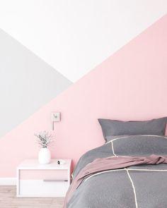 Girls Room Paint, Girl Bedroom Walls, Bedroom Wall Colors, Accent Wall Bedroom, Room Colors, Girl Room, Bedroom Wall Designs, Room Design Bedroom, Room Ideas Bedroom