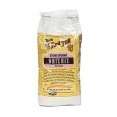 24 oz Stone Ground White Rice Flour by Bob's Red Mill - Thrive Market