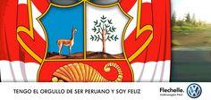 FELICES FIESTAS PATRIAS - Flechelle Volkswagen Perú