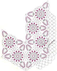 Crochet Art: Crochet Doilies - A Variety of Doilies Using The Same Crochet Motif