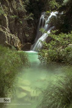 Waterfalls in Blue Lagoon.... - Pinned by Mak Khalaf Nature beautifulbeautyforestgreenrivertraveltreeswaterwaterfall by GeorgetteAleiferi