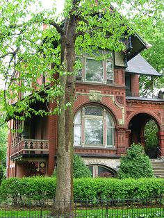Brick Victorian home
