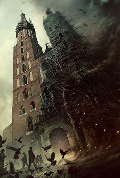 ArtStation - Mariacki Towers, Mateusz Lenart