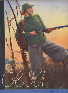 Hunting, Eeva women's magazine, 1937