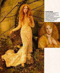 Saoirse Ronan: The Cult of Beauty - Vogue by Steven Meisel, December 2011