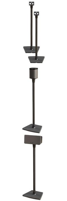 speaker mounts and stands sanus systems speaker stand for sonos play 1 and play 3 - Sanus Speaker Stands