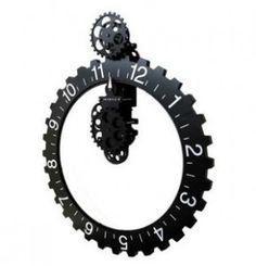 Mechanical Gear Wall Clock - INFMETRY