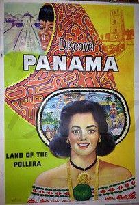 PANAMA TRAVEL POSTER