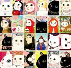 Catsparella: The Dreamy Jetoy Choo Choo Cats Crazy Cat Lady, Crazy Cats, I Love Cats, Cute Cats, Funny Cats, Image Chat, Photo Chat, Cat Wallpaper, All About Cats