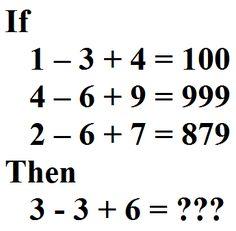 ... IQ Test on Pinterest | Hard Brain Teasers, Brain Teasers and In Maths