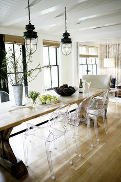 Pinterest le catalogue d 39 id es - Table et chaise transparente ...