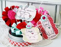 PTI - Melissa Phillips. Turn Happy Day to a vertical position. Cute valentines.