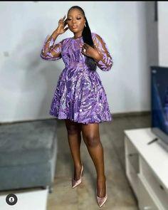 Nigerian Lace Styles Dress, Aso Ebi Lace Styles, Nigerian Dress, Lace Gown Styles, African Lace Styles, African Lace Dresses, African Dresses For Women, African Fashion Dresses, Lace Gowns
