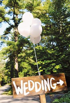 Balloons #wedding signing