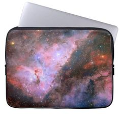 Carina Nebula - Breathtaking Universe Computer Sleeve - An appealing design available to buy from hightonridley's Carina Nebula, Orion Nebula, Star Nursery, Whirlpool Galaxy, Computer Sleeve, Star Cluster, Custom Laptop, Hubble Space Telescope, Dark Matter