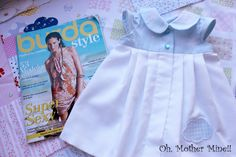 Tutorial: Cómo hacer un vestido bebe burda. Despliega la descripción para obtener toda la información!!! Más fotos del resultado de este vestido de bebe y el...