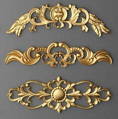 Cartouches Model available on Turbo Squid, the world's leading provider of digital models for visualization, films, television, and games. Carved Wood Wall Art, Metal Wall Decor, Gypsum Decoration, Baroque Pattern, Wood Carving Designs, Wall Molding, Renaissance, Rococo Style, Ceiling Medallions