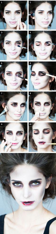 novia zombie tutorial bien