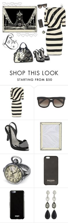 """~ London Town ~"" by stylistic-1 ❤ liked on Polyvore featuring Vivienne Westwood Anglomania, Vivienne Westwood, Melissa, Jay Strongwater, David Yurman, Balmain, Givenchy and Oscar de la Renta"