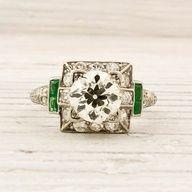 Wedding Ideas: vintage-1920-carat-old-european-cut
