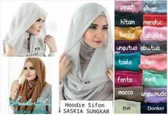 obral murah Hijab/Jilbab Instant Hoodie Saskia hanya Rp 44.100