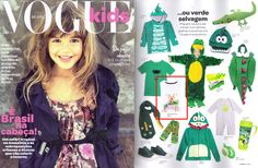Arcobaleno na revista Vogue Kids