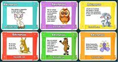 La adivinanza es un extraordinario recurso didáctico en el proceso de enseñanza y aprendizaje en la escuela. Su introducción en el aula a través de una metodología significativa, motivadora y lúdica, la convierten en... Baby Learning, Speech Therapy, Ideas Para, Homeschool, Classroom, Education, Comics, Games, Kids