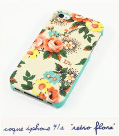Lale - Flora retro (iPhone 4/4S)