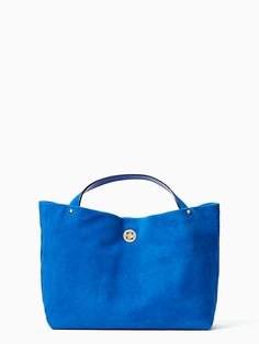 stardust suede willa, orbitblue, large Longchamp, Give It To Me, Kate Spade, York, Handbags, Tote Bag, My Style, Blue, Beautiful