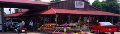 poor farmer's market, milepost 174 (meadows of dan, virginia)- Pull over for gas and snacks.