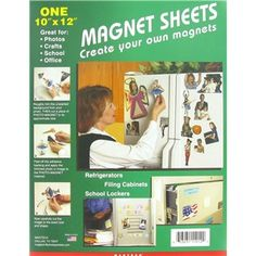 """10"""" x 12"""" Clear Magnetic Photo Sheet   Shop Hobby Lobby"""