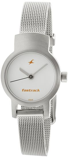 c4c163ab9 Buy Fastrack Upgrade-Core Analog White Dial Women s Watch - NE2298SM02  Online at Low Prices in India - Amazon.in