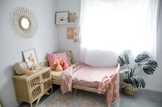 The Cruz Toddler Bed is classically cool. Made from sustainable rattan wood, the Cruz Toddler Bed is a handsome addition to any kids bedroom. Kids Bed Frames, Kid Beds, Kids Bedroom, Rattan, Cosy, Cribs, Mattress, Toddler Bed, Cool Stuff