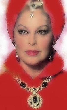 The Blue Bird, 1976. Ava Gardner. Old Hollywood Stars, Golden Age Of Hollywood, Vintage Hollywood, Hollywood Glamour, Classic Hollywood, Ava Gardner, She's A Lady, Lady In Red, Classic Actresses
