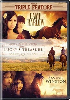 AJ Olson & Michael Ironside & Shane Hawks-Camp Harlow / Lucky's Treasure / Saving Winston Triple Feature