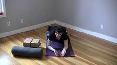 Yin Yoga ~ Sleeping Swan Pose