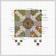 Garden Plan - 2013: New Rivendell Solar Rays. Great plans on this site.